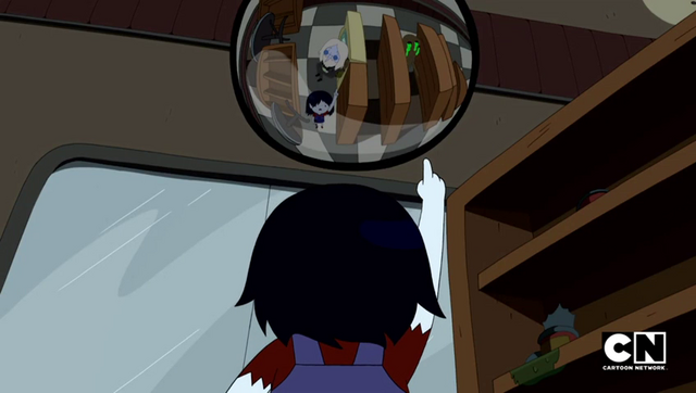 File:S5e14 Marcy pointing at mirror.png