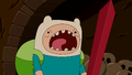 S5 E12 Finn screaming with confidence.PNG