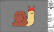 Modelsheet snail - withbathingcap