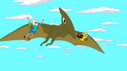 S5e40 pterodactyl carrying F&J