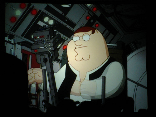File:Star Wars Celebration IV - Star Wars Family Guy panel - Peter as Han Solo.jpg