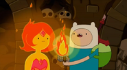 S5e12 Finn with torch