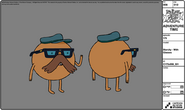 Modelsheet starchy withglasses