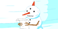 Snowman Priest