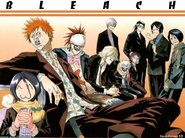 File:Bleach characters meme style by negator7-d4lo6m7.jpg