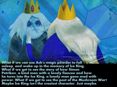Simon petrikov mushroom war ice king