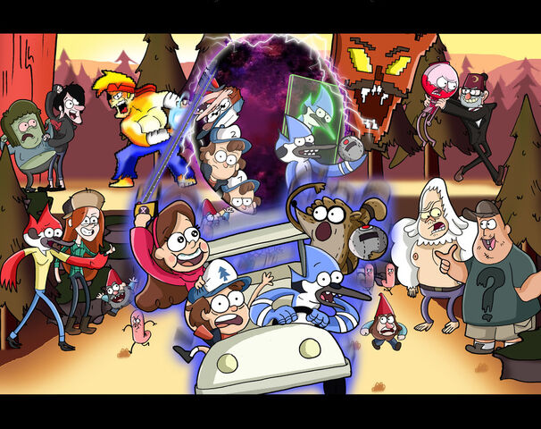File:Regular show and gravity falls by xeternalflamebryx-d5z1h5y.jpg