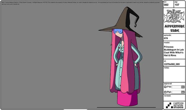 File:Modelsheet princessbubblegum inlabcoat withwitchshat rims.jpg