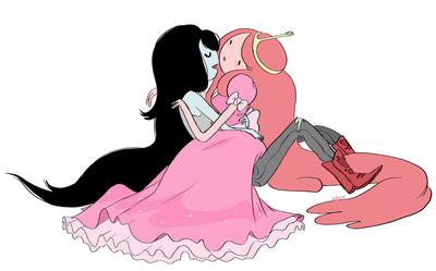 Bonnibel and Marceline - Vampire Orientation - by Natasha