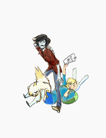 File:Fionna and marshall and cake by deadums-d4cnfn6.png