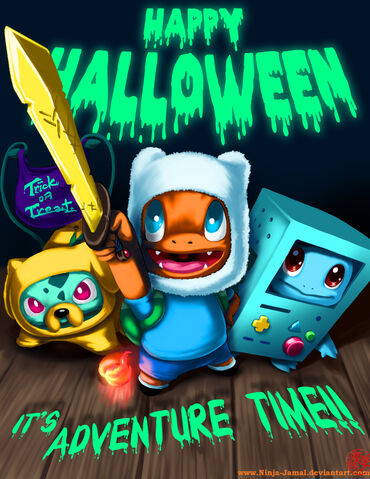 File:Happy halloween adventure time and pokemon mashup.jpg