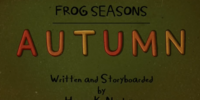 Frog Seasons: Autumn