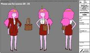 S7e26 Princess Bubblegum modelsheet