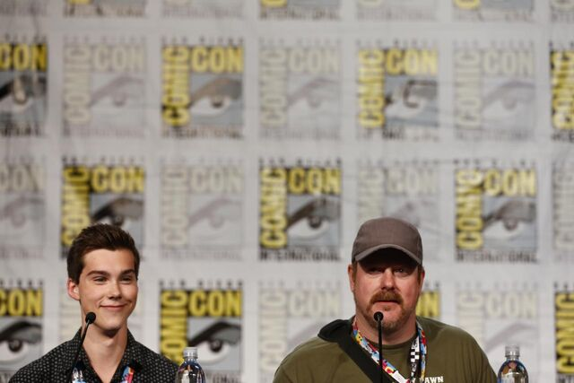 File:Adventure Time Panel at SDCC14 1.JPG
