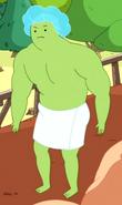 S5e34 Green Bath Boy