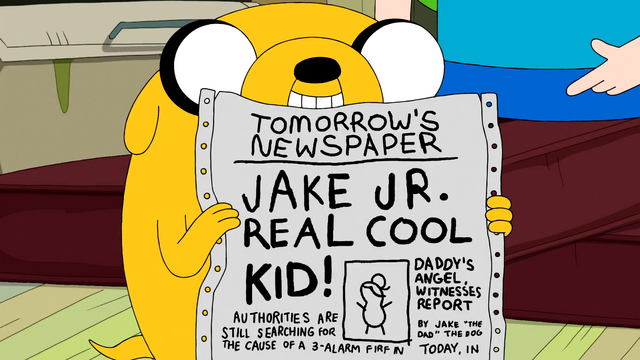 File:S5e24 Jake with tomorrow's newspaper.png