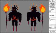 Modelsheet flameguards