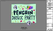 Modelsheet penguindanceparty card