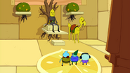 S4 E20 The new citizens of Castle Lemongrab