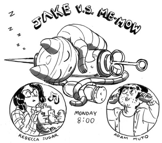 File:Jake vs Me-Mow art.jpg