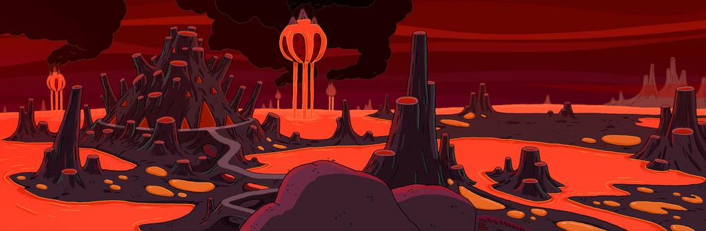 Fire Kingdom Adventure Time Wiki Fandom Powered By Wikia