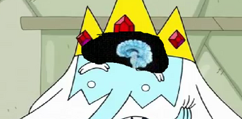 Ice King's brain