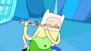 S1e3 finn playing flute