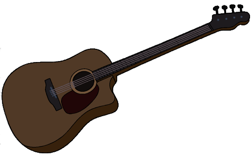 File:Marceline's Brown Acoustic Bass Guitar.png