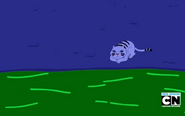 S5e34 Shoko's tiger waiting by river