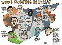 Syria empires map