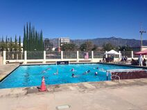 Cal Tech W-Polo pool