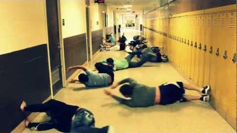 Hallway Swimming Most People (Original)