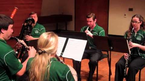 Ohio University's Double Reed Ensemble - Stand Up and Cheer!