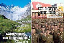 Switzerland N Korea