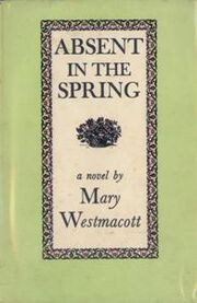 Absent in the Spring First Edition Cover 1944