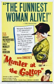 Murder at the Gallop FilmPoster
