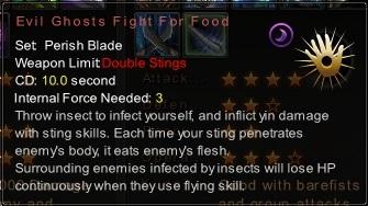 (Perish Blade) Evil Ghosts Fight For Food (Description)