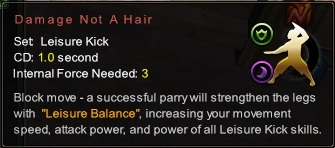(Leisure Kick) Damage Not A Hair (Description)