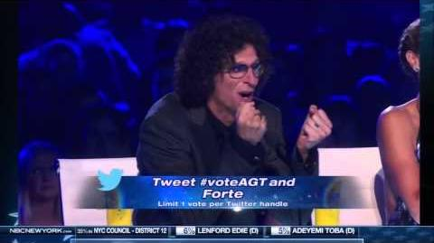 Forte - My Heart Will Go On (America's Got Talent 8)
