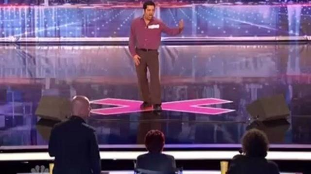 Simply Sergio, 47 ~ America's Got Talent 2012, Auditions St