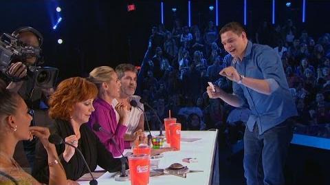 America's Got Talent 2016 Steven Brundage Rubik's Magic Is Real Full Judge Cuts Clip S11E09