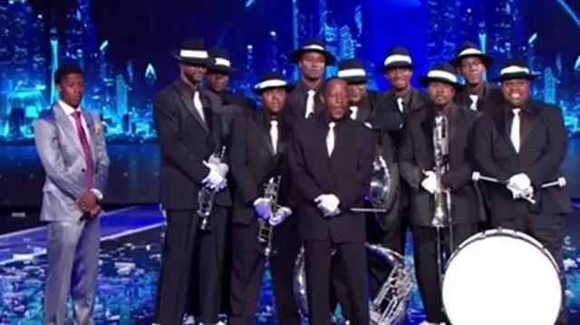 Distinguished Men of Brass, Top 48 Live ~ America's Got Talent 2012 Q1-0