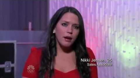 Nikki Jensen - Vegas Round - America's Got Talent 2012