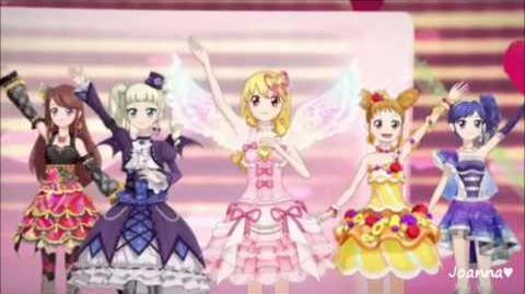 Aikatsu! - All 5 Girls! - Calendar Girl (episode 25)