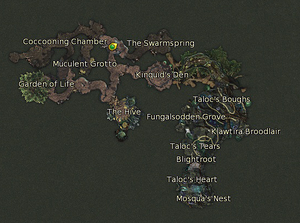 Taloc's Hallow Map