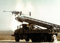 800px-RQ-2 Pioneer is catapulted from a launching rail 1