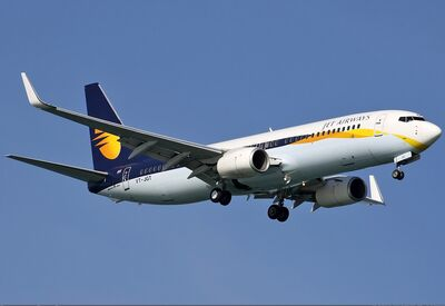 Jet Airways Boeing 737-800 Spijkers