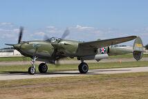P-38F Lightning