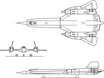 800px-Lockheed YF-12A 3view