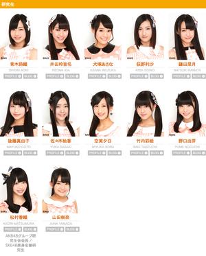 SKE48Kenkyuusei2014